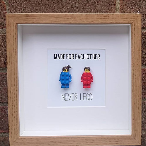 LEGO® Made For Each Other - Never Lego