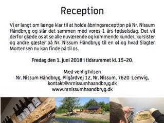 Reception hos Nr. Nissum Håndbryg