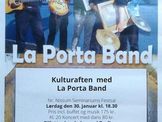 Kulturaften med La Porta Band