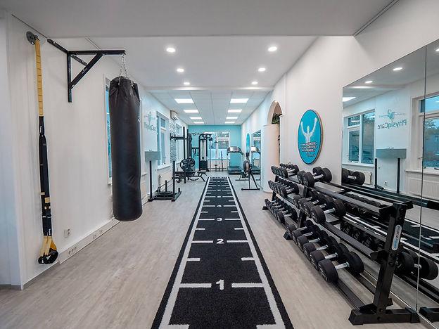 Medische fitness ruimte bij PhysiqCare Fysiotherapie in Zoetermeer