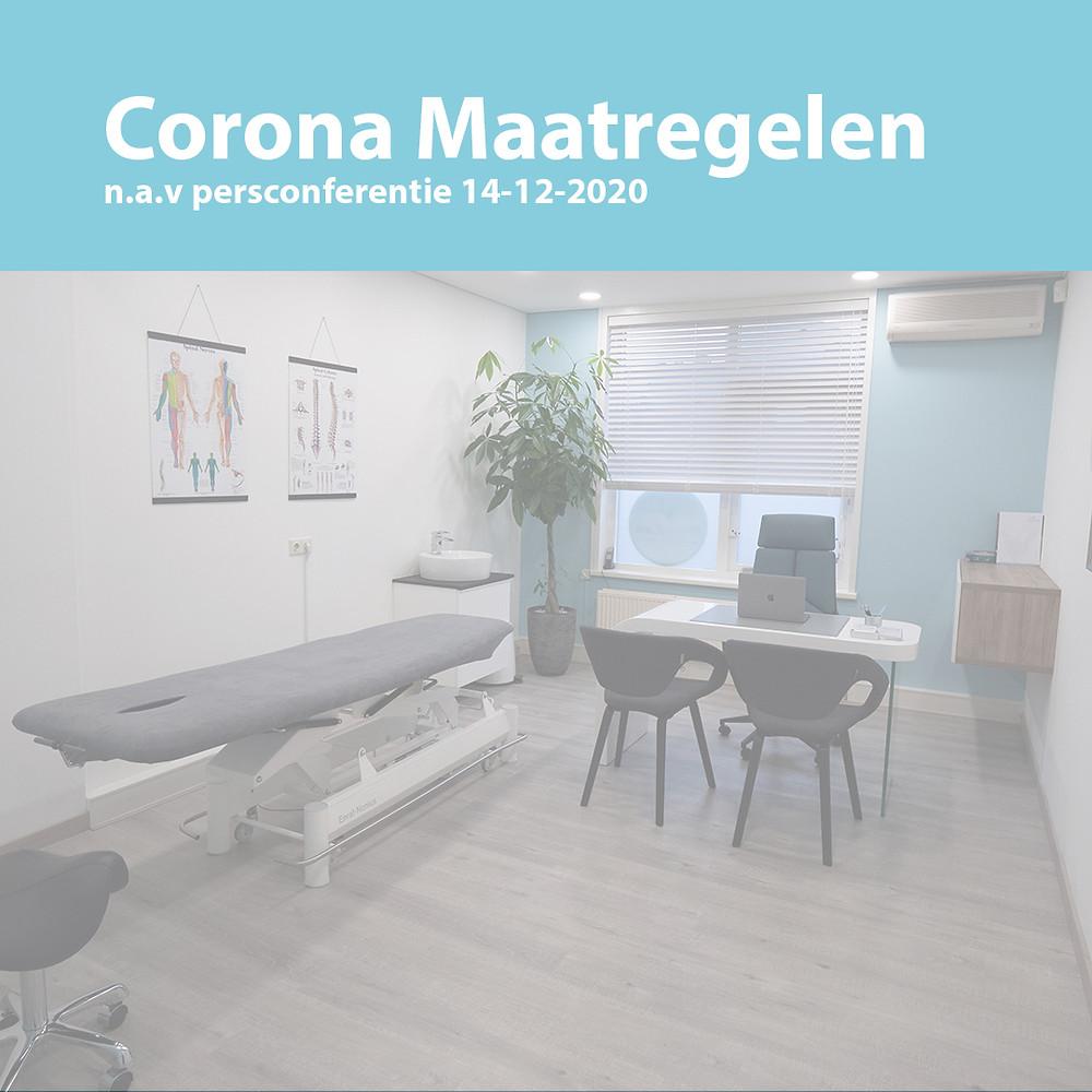 Corona Maatregelen voor Fysiotherapie in Zoetermeer