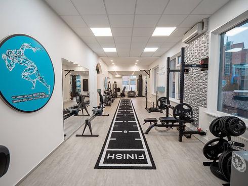 Trainingszaal fysiotherapie praktijk in Zoetermeer