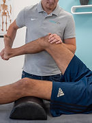 Fysiotherapie behandeling aan been
