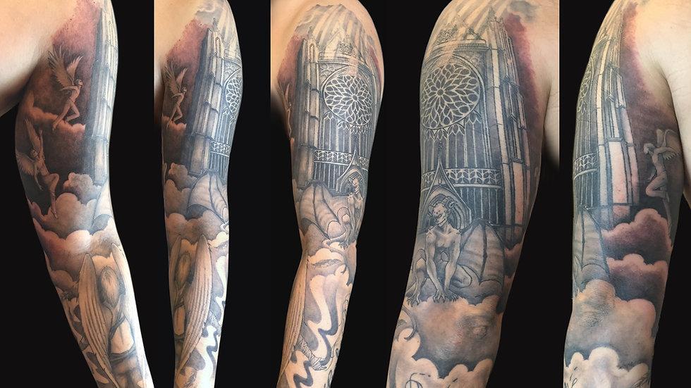 Tattoo tatouage Virginie Diable Le Diable au Corps