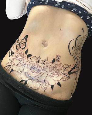 Tatouage tattoo cicatrice scars camouflage
