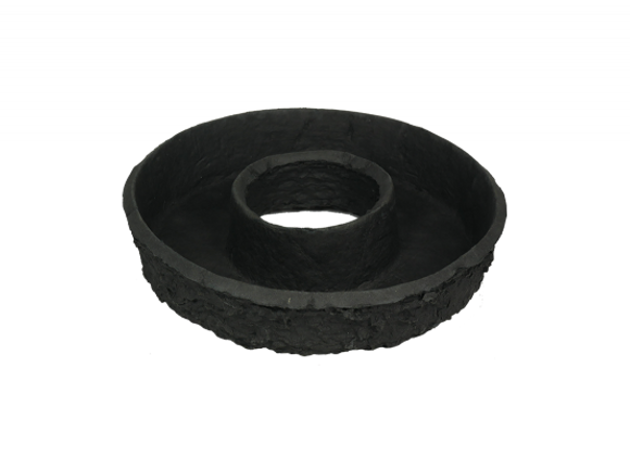 OASIS BLACK BIOLIT Pflanzring 28cm