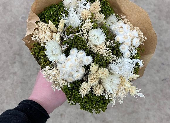 Bouquet weiß grün