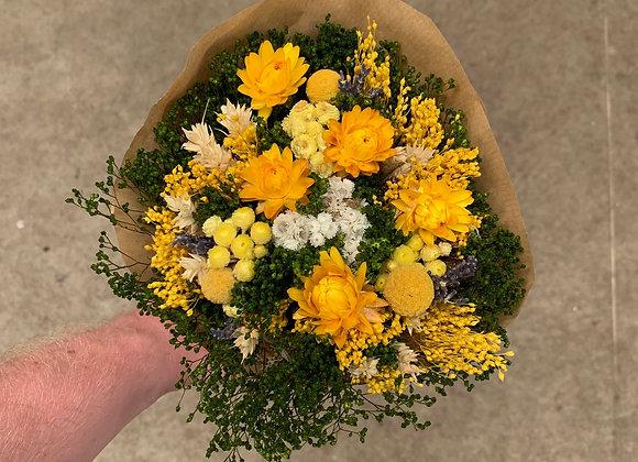 Bouquet gelb