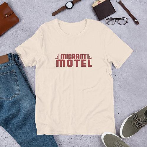 Migrant Motel Cream T Shirt