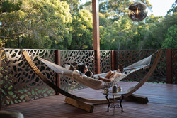 Villa Romantica Deck and Hammock
