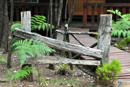 Entrance wood