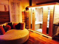 The Spa Cottage, Lounge Sauna