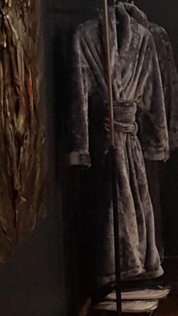 Fluffy robes