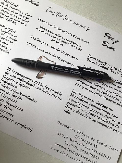 Bolígrafo Solidario del Convento