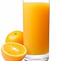 Les jus d'orange frais préssé