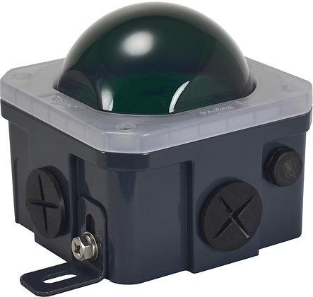 10-Watt Junction Box Green Poly-carbonate lens