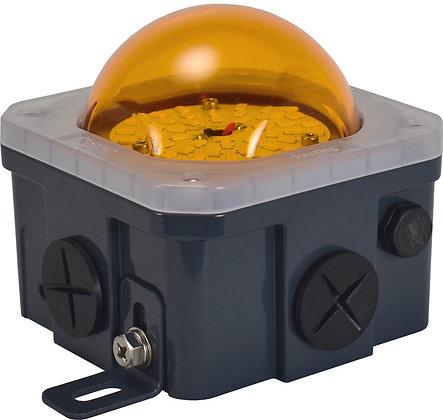 10-Watt Junction Box Lighting Amber Poly-carbonate lens