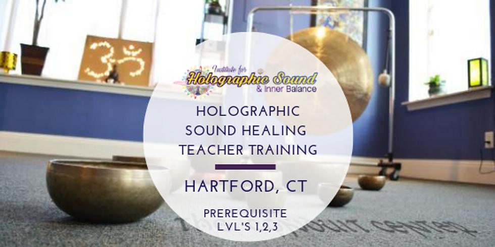 Holographic Sound Healing Teacher Training - HARTFORD, CT