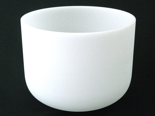 13'' Original Frosted Quartz Singing Bowl