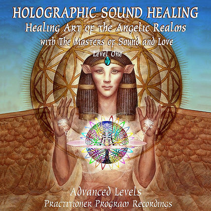 Holographic Sound Healing - LEVEL 1 Activation Recordings (Set of 2 CDs or USB)