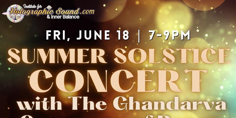 Summer Solstice Concert with The Ghandarva Ceremony - AUSTIN, TX