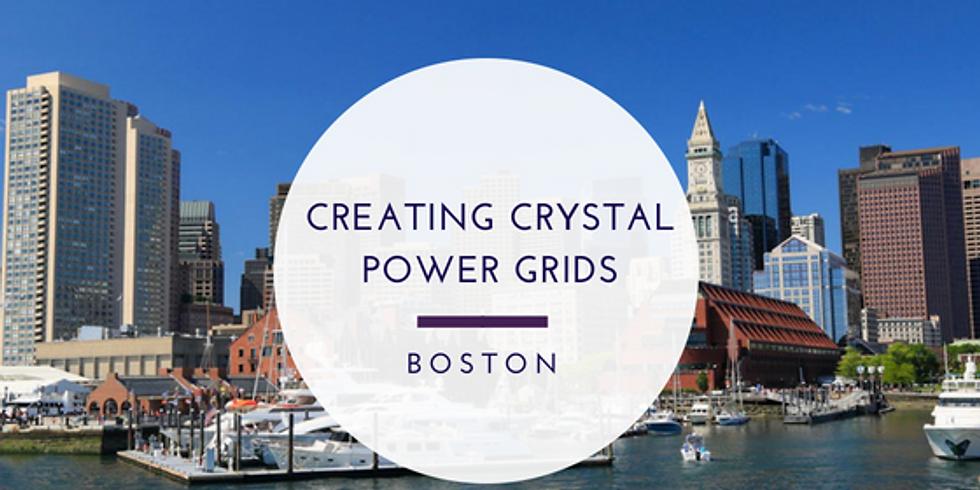 Creating Crystal Power Grids - Boston/Sudbury, MA
