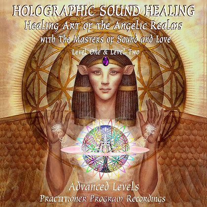 Holographic Sound Healing - L1 & L2 Activation Recordings (Set of 4 CDs or USB)