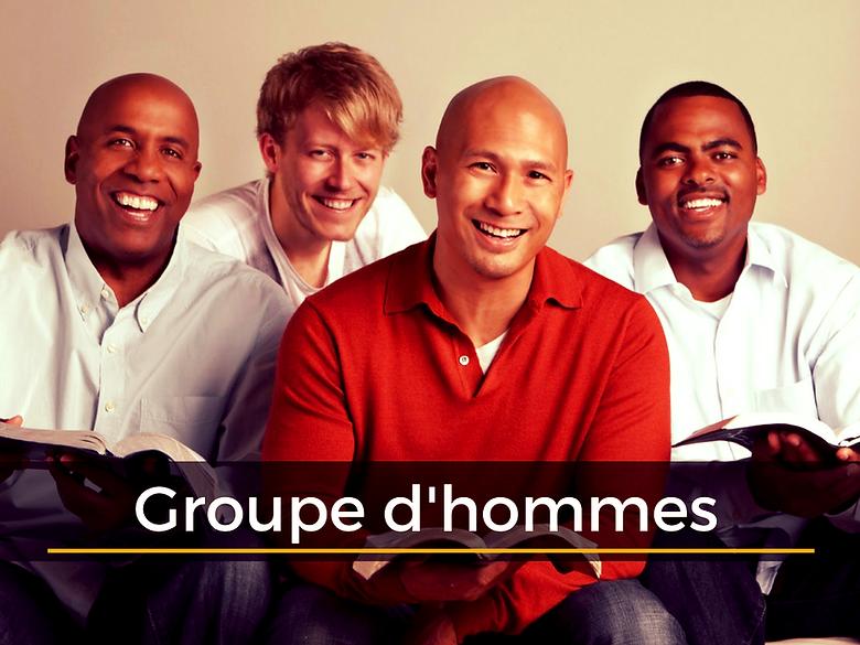 Eglise adD Mâcon / Groupe des hommes