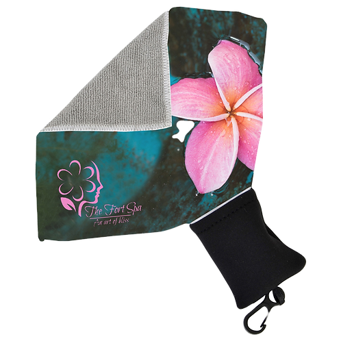 Microfibre Towel With Pouch