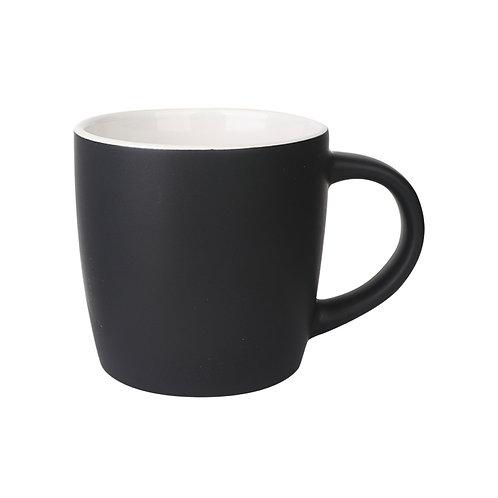 Boston Ceramic Mug/Matte Black with White