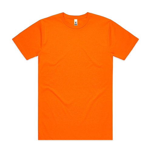 Block T-shirt Fluoro Mens/Unisex