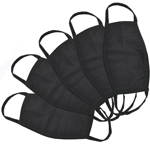 Pack of 5 - Armour Face Masks