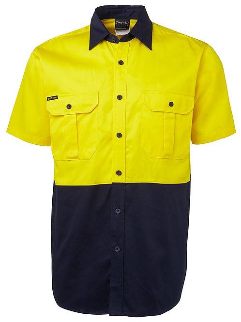 Hi Vis Shirt Short Sleeve