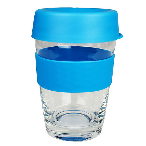 Carry Reusable Coffee Cup Glass