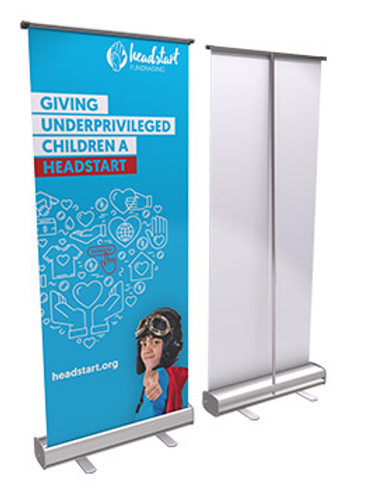 Economy Pull Up Banner - 2000mm or 1600mm
