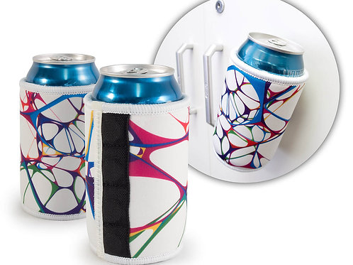 Magnetic Can Cooler - Sublimated