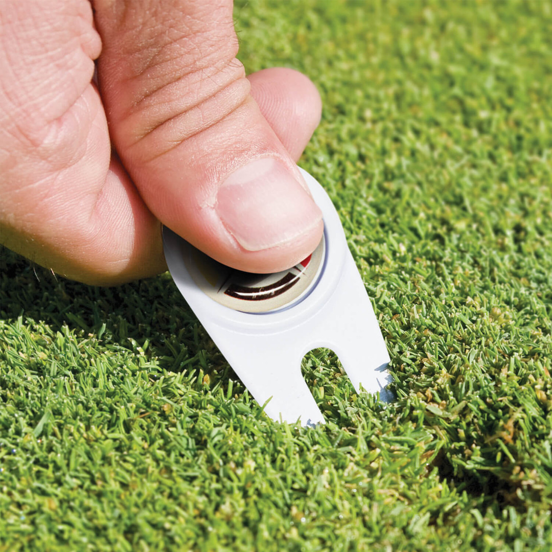 Golf Divot Repairer with Marker 110515-2