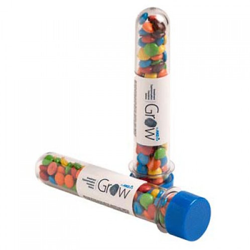 Test Tube with M&Ms 40g