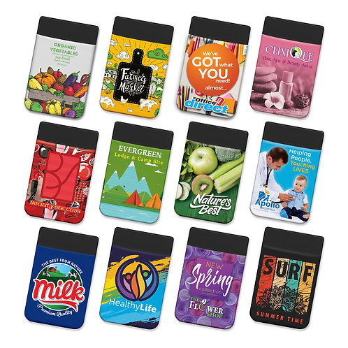 Lycra Phone Wallet - Full Colour