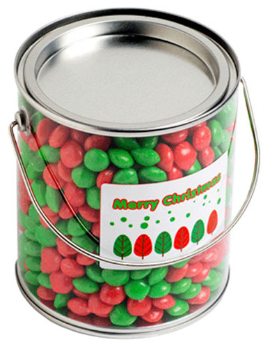 Big PVC Bucket filled with Christmas CHE
