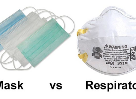 Masks vs Respirators