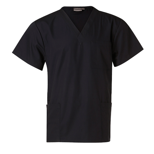 Scrubs Short Sleeve Tunic Top Unisex