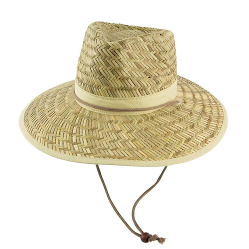 Straw Hat With Rope/Toggle