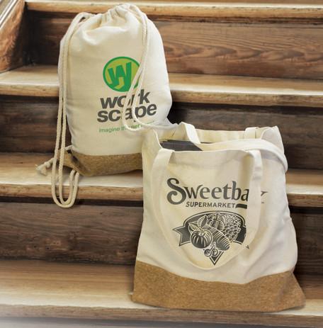 Oakridge Tote Bag and Drawstring Backpac