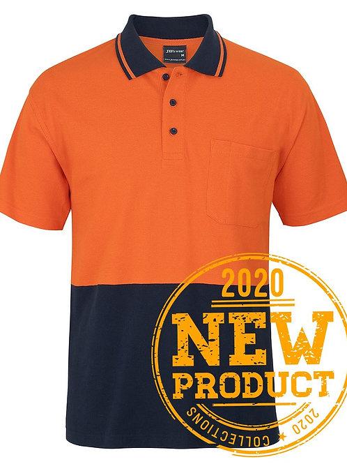 Hi Vis Cotton Pique Polo