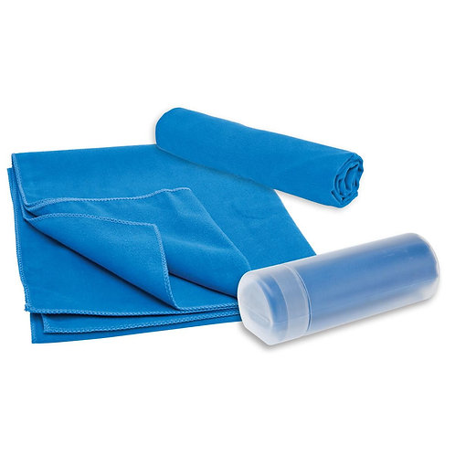 Microfibre Sports Towel In Container