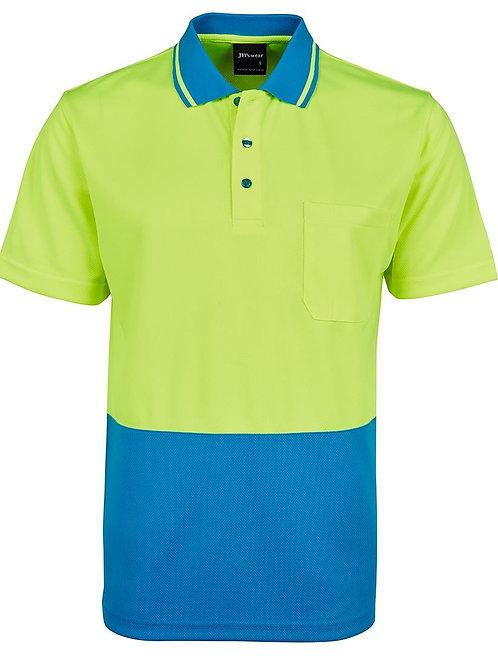 Hi Vis Traditional Polo