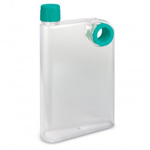 Accent Flat Drink Bottle - Frosted