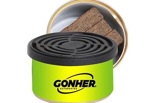 Fibre Car Air Freshener Tin Can
