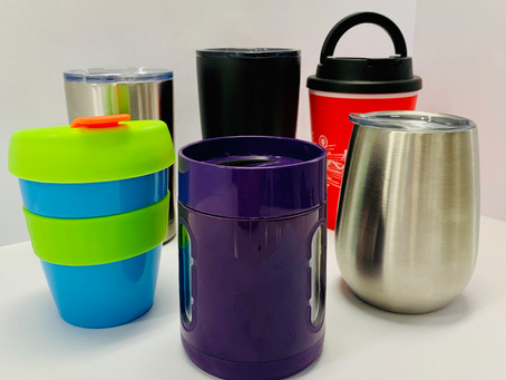 Being less wasteful one cup at a time.